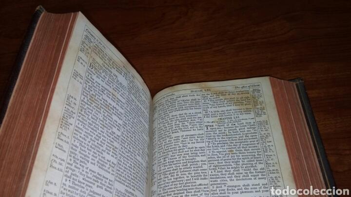 Libros antiguos: HOLY BIBLE *ANTIGUA BIBLIA* BONITA ENCUADERNACION *ANTIGUO Y NUEVO TESTAMENTO* S. XIX ? - Foto 10 - 160670689