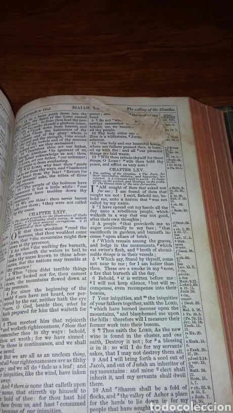 Libros antiguos: HOLY BIBLE *ANTIGUA BIBLIA* BONITA ENCUADERNACION *ANTIGUO Y NUEVO TESTAMENTO* S. XIX ? - Foto 11 - 160670689