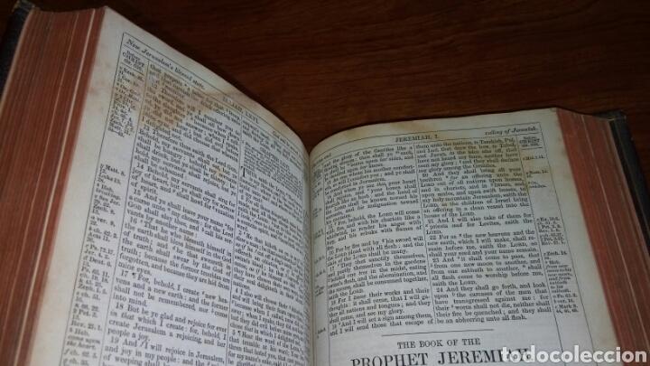 Libros antiguos: HOLY BIBLE *ANTIGUA BIBLIA* BONITA ENCUADERNACION *ANTIGUO Y NUEVO TESTAMENTO* S. XIX ? - Foto 12 - 160670689