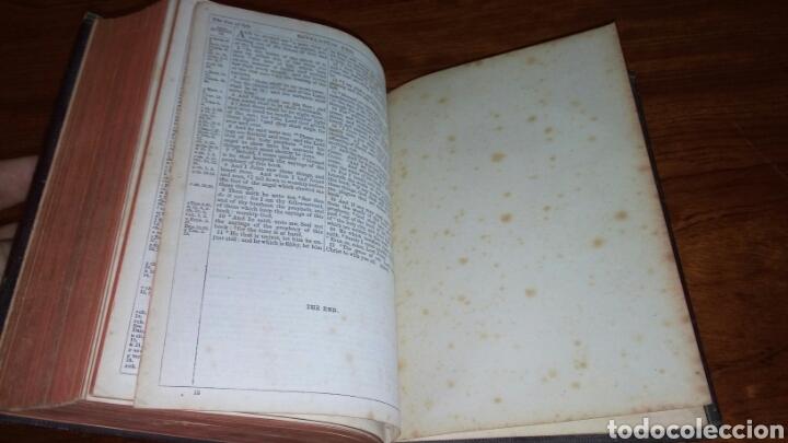 Libros antiguos: HOLY BIBLE *ANTIGUA BIBLIA* BONITA ENCUADERNACION *ANTIGUO Y NUEVO TESTAMENTO* S. XIX ? - Foto 15 - 160670689
