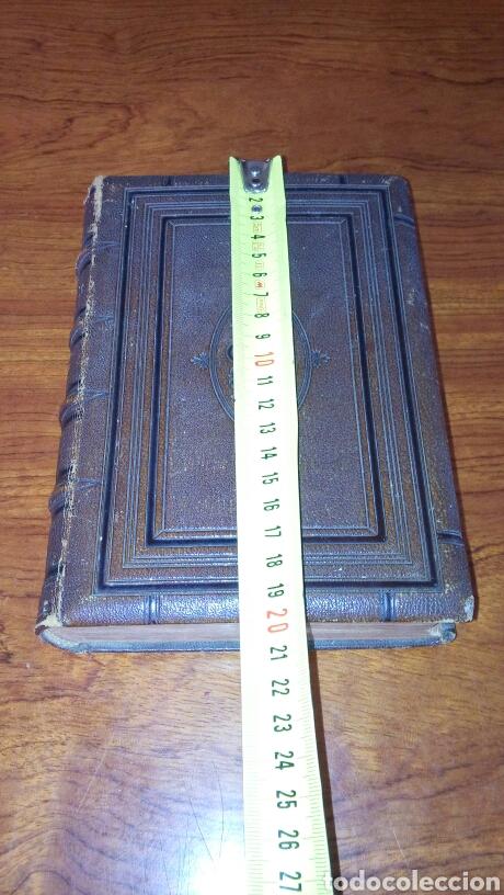 Libros antiguos: HOLY BIBLE *ANTIGUA BIBLIA* BONITA ENCUADERNACION *ANTIGUO Y NUEVO TESTAMENTO* S. XIX ? - Foto 24 - 160670689