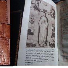 Libros antiguos: LA AZUCENA , DEVOCIONARIO-AÑO 1939. Lote 160698658