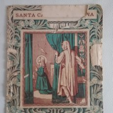 Libros antiguos: VIDA DE SANTA CATALINA DE SENA.. Lote 161119540