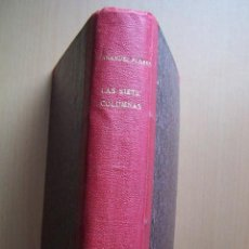 Libros antiguos: LAS SIETE COLUMNAS. WENCESLAO FERNÁNDEZ FLÓREZ. EDITORIAL ATLÁNTIDA, 1926.. Lote 161159682