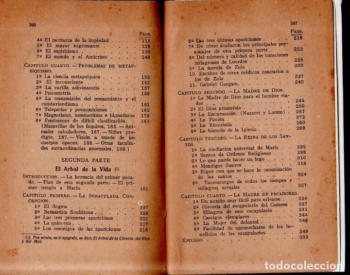 Libros antiguos: EVA Y MARIA. RICARDO SANCHEZ VARELA, PBRO. TIPOGRAFIA CATOLICA CASALS. 1925. - Foto 7 - 161221226