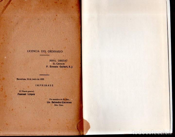 Libros antiguos: EVA Y MARIA. RICARDO SANCHEZ VARELA, PBRO. TIPOGRAFIA CATOLICA CASALS. 1925. - Foto 8 - 161221226