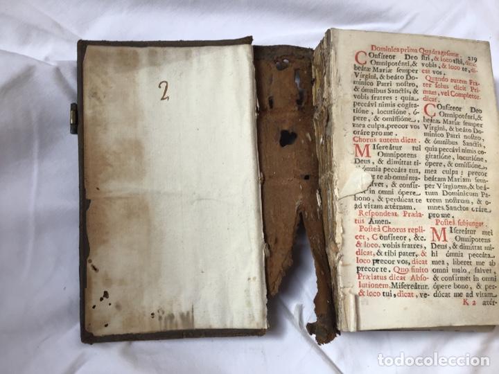 Libros antiguos: Libro ,Breviario. Encuadernado en piel - Foto 4 - 161472818