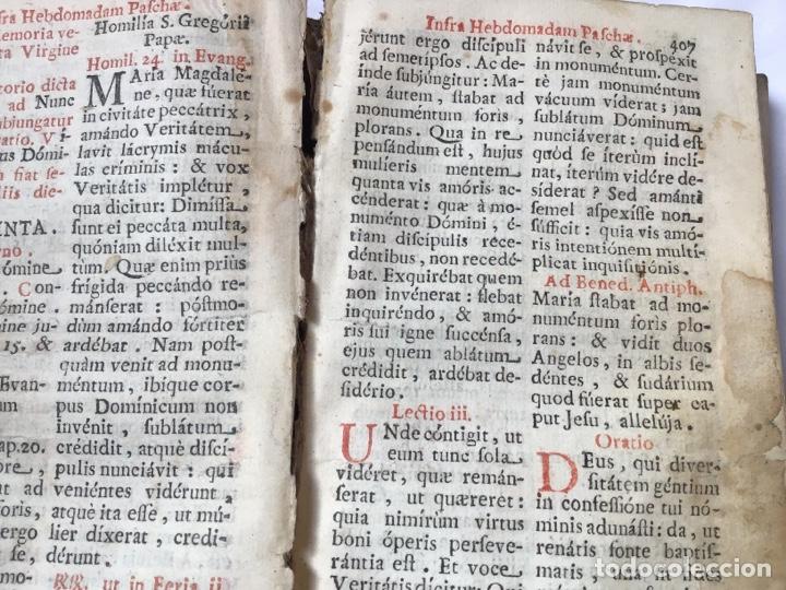 Libros antiguos: Libro ,Breviario. Encuadernado en piel - Foto 5 - 161472818
