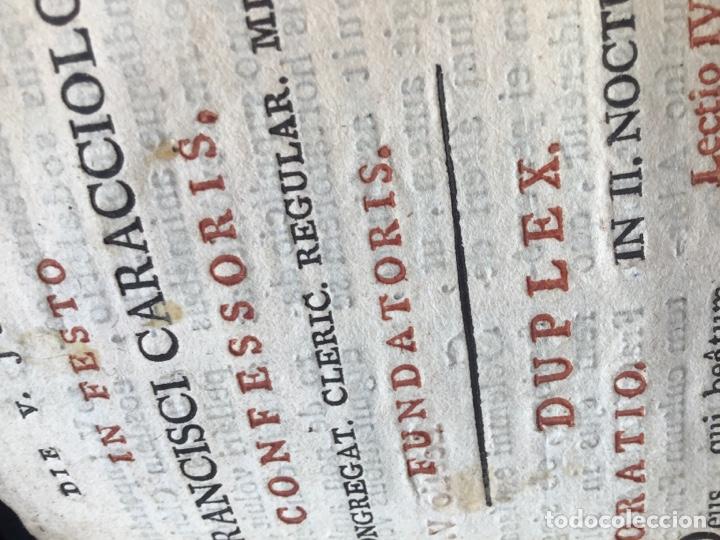 Libros antiguos: Libro ,Breviario. Encuadernado en piel - Foto 8 - 161472818