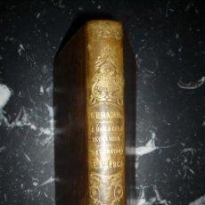 Libros antiguos: LA UNICA COSA NECESARIA --LA ETERNIDAD SE ACERCA Mª JOSE DE GERAMB 1856 BARCELONA. Lote 161962270