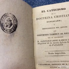Libros antiguos: EL CATECISMO DE LA DOCTRINA CRISTIANA. 1844. DECLARACIÓN DOCTRINA CRISTIANA. Lote 162074986