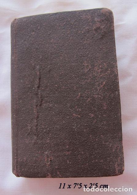 Libros antiguos: DIAMANTE DIVINO DEVOCIONARIO CON SANTA MISA SIGLO XIX - Foto 5 - 162792186
