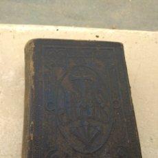 Libros antiguos: MANÁ DEL SACERDOTE POR P.JOSE MACH 1896 - IMPRENTA FRANCISCO ROSAL - BARCELONA -. Lote 163132448