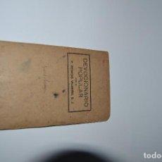 Libros antiguos: DEVOCIONARIO POPULAR DE REMIGIO DE 1944. Lote 163230854