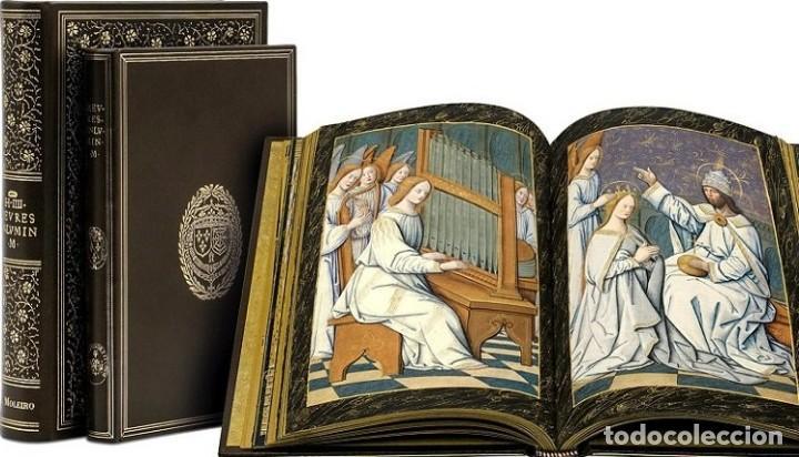 Libros antiguos: Facsímil Libro de Horas de Enrique IV de Francia. Moleiro - Foto 2 - 163766866