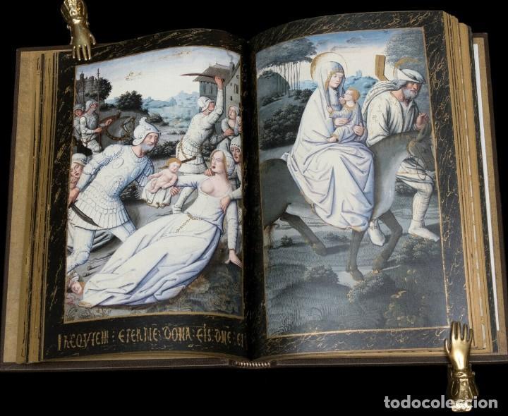 Libros antiguos: Facsímil Libro de Horas de Enrique IV de Francia. Moleiro - Foto 4 - 163766866