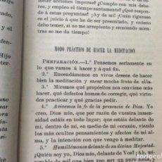 Libros antiguos: ESPEJO DEL ALMA QUE SUSPIRA UNIRSE CON DIOS. 1897. Lote 163967630