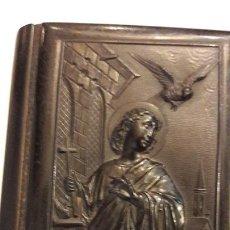 Libros antiguos: DEVOCIONARIO SAGRADO CORAZÓN DE JESÚS TAPAS GUTAPERCHA J SAYOL ECHEVARRIA 1882. Lote 164331310