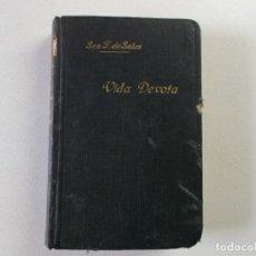Libros antiguos: SAN FRANCISCO DE SALES INTRODUCCION A LA VIDA DEVOTA, 1928, MADRID. Lote 164476202