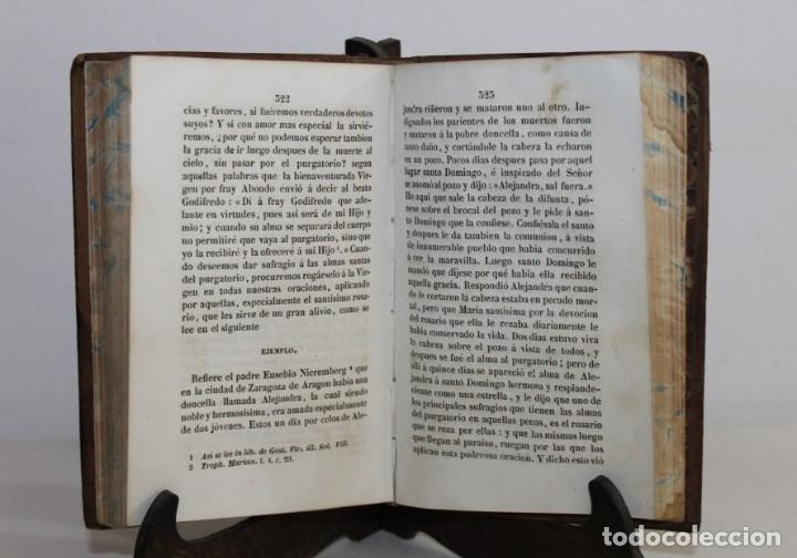 Libros antiguos: LAS GLORIAS DE MARIA. ALFONSO MARIA DE LIGUORI. TOMO I. A PONS LIBREROS. BARCELONA 1844 - Foto 2 - 164520078