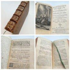 Libros antiguos: AÑO 1729: EFFUSION DE COEUR, EFUSIÓN DE CORAZÓN - LIBRO DEL SIGLO XVIII. Lote 164617910