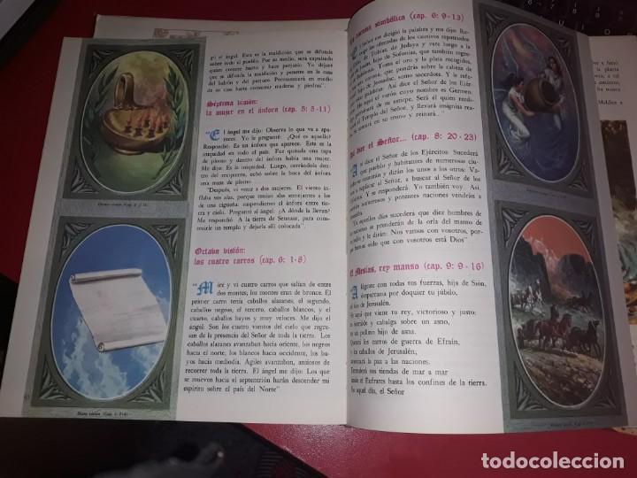 Libros antiguos: La Biblia Volumenes IV y V Publicada por Codex 1962 espectacularmente ilustrada - Foto 2 - 164740750