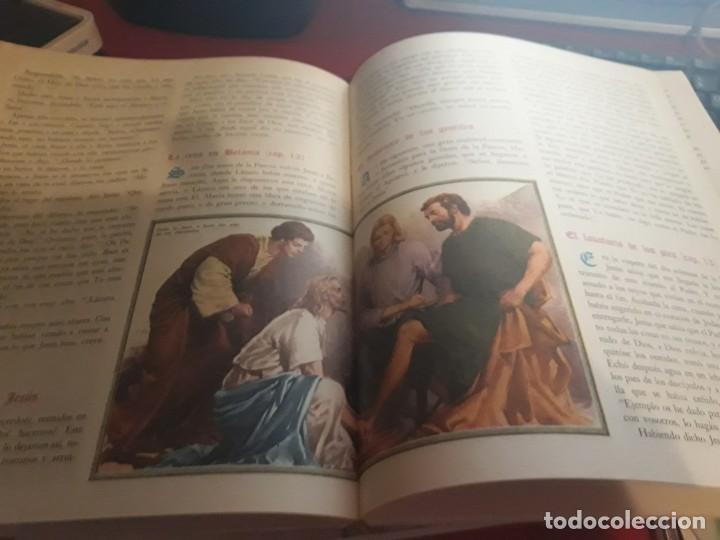 Libros antiguos: La Biblia Volumenes IV y V Publicada por Codex 1962 espectacularmente ilustrada - Foto 4 - 164740750