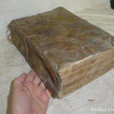 Libros antiguos: ANTIGUO LIBRO DE PERGAMINO DE 1744, DE RELIGION. HISTORIA VIRGEN MADRE DE DIOS. TOMO 2. ORIGINAL.. Lote 164749050