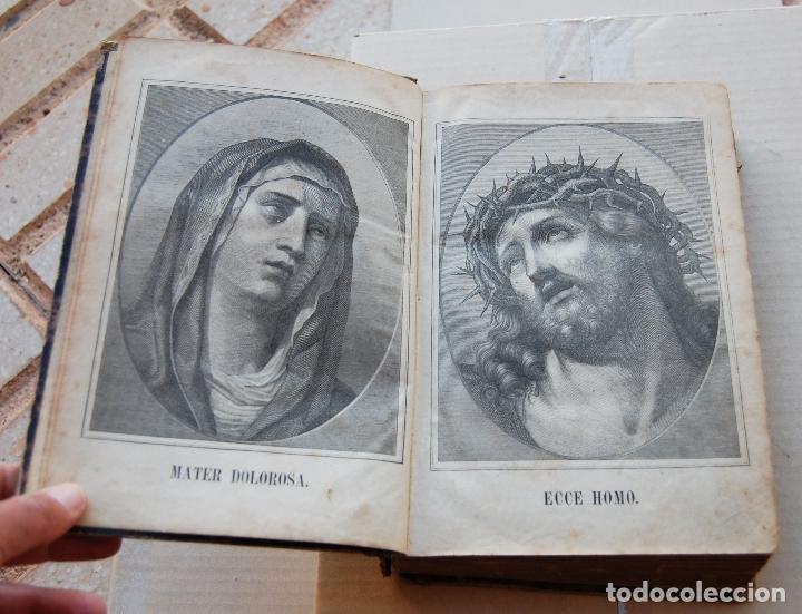 Libros antiguos: BIBLIA ALEMANA CATÓLICA R.P. GOFINE 1876 CON BONITOS GRABADOS 677 páginas - Foto 4 - 164837678