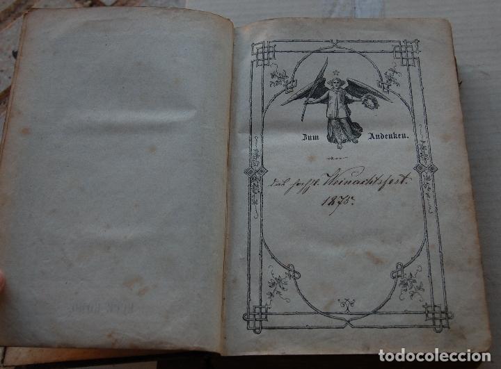 Libros antiguos: BIBLIA ALEMANA CATÓLICA R.P. GOFINE 1876 CON BONITOS GRABADOS 677 páginas - Foto 9 - 164837678