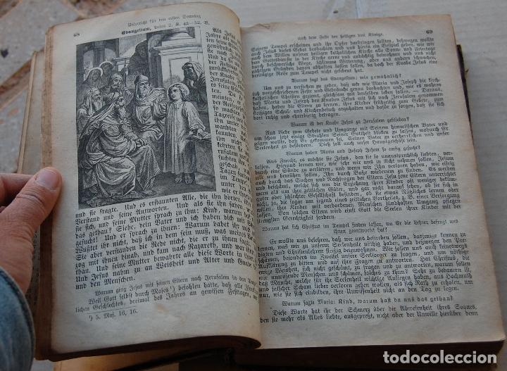 Libros antiguos: BIBLIA ALEMANA CATÓLICA R.P. GOFINE 1876 CON BONITOS GRABADOS 677 páginas - Foto 10 - 164837678