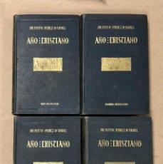 Libros antiguos: AÑO CRISTIANO. FR. JUSTO PÉREZ DE URBEL, O.S.B. EDICIONES FAX 1933/34/35.. Lote 164870954