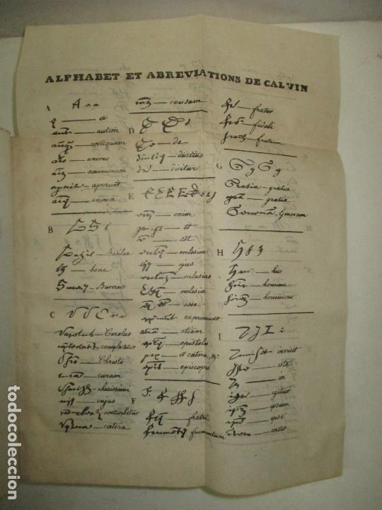 Libros antiguos: HISTOIRE DE LA VIE, DES OUVRAGES ET DES DOCTRINES DE CALVIN. AUDIN, M. 1843. - Foto 3 - 165083966