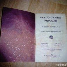 Libros antiguos: DEVOCIONARIO POPULAR 1934: REMIGIO VILARIÑO. Lote 165403650