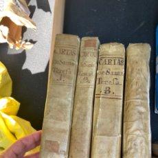 Libros antiguos: CARTAS DE SANTA TERESA SIGLO XVIII. Lote 165466881