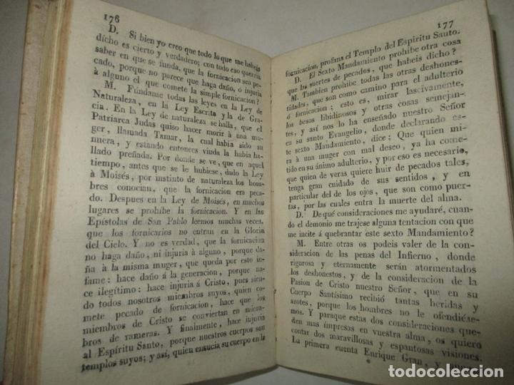 Libros antiguos: DECLARACIÓN COPIOSA DE LA DOCTRINA CRISTIANA. BELARMINO, Roberto. c.1800. - Foto 3 - 165473282