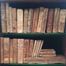 Libros antiguos: IMPORTANTE BIBLIOTECA CON 45 VOLÚMENES. S.XVI - XVIII EN PERGAMINO. Lote 165885577