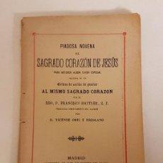 Libros antiguos: DEVOCIONARIO HONOR DEL SANTISIMO SACRAMENTO, EDITADO EN MADRID 1909. Lote 166109218