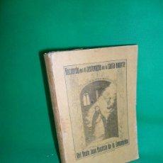 Libros antiguos: RECUERDO DEL III CENTENARIO DE LA SANTA MUERTE DEL BEATO JUAN BAUTISTA DE LA CONCEPCIÓN,CÓRDOBA,1913. Lote 166927152