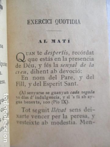 Libros antiguos: LO CATALÀ DEVOT-Mannual devocionari-Dr.Tomas dA.Rigualt-Pvre.Sta.Maria del Mar-Barcelona 1900 - Foto 16 - 166951876