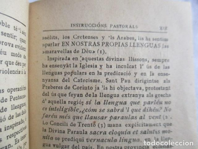 Libros antiguos: LO CATALÀ DEVOT-Mannual devocionari-Dr.Tomas dA.Rigualt-Pvre.Sta.Maria del Mar-Barcelona 1900 - Foto 17 - 166951876