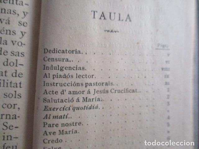 Libros antiguos: LO CATALÀ DEVOT-Mannual devocionari-Dr.Tomas dA.Rigualt-Pvre.Sta.Maria del Mar-Barcelona 1900 - Foto 20 - 166951876