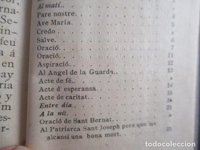 Libros antiguos: LO CATALÀ DEVOT-Mannual devocionari-Dr.Tomas dA.Rigualt-Pvre.Sta.Maria del Mar-Barcelona 1900 - Foto 21 - 166951876