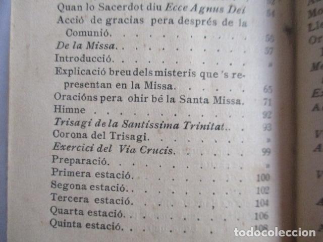 Libros antiguos: LO CATALÀ DEVOT-Mannual devocionari-Dr.Tomas dA.Rigualt-Pvre.Sta.Maria del Mar-Barcelona 1900 - Foto 23 - 166951876
