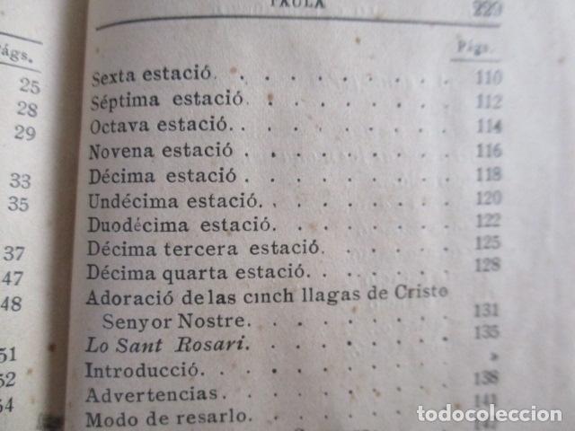 Libros antiguos: LO CATALÀ DEVOT-Mannual devocionari-Dr.Tomas dA.Rigualt-Pvre.Sta.Maria del Mar-Barcelona 1900 - Foto 24 - 166951876