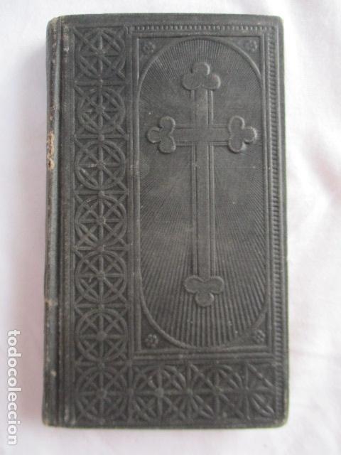 LO CATALÀ DEVOT-MANNUAL DEVOCIONARI-DR.TOMAS D'A.RIGUALT-PVRE.STA.MARIA DEL MAR-BARCELONA 1900 (Libros Antiguos, Raros y Curiosos - Religión)