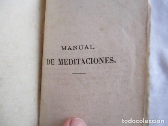 Libros antiguos: MANUAL DE MEDITACIONES. P. TOMAS DE VILLACASTIN. IMP. Y LIBR. PABLO RIERA. BARCELONA 1874 - Foto 11 - 166952292