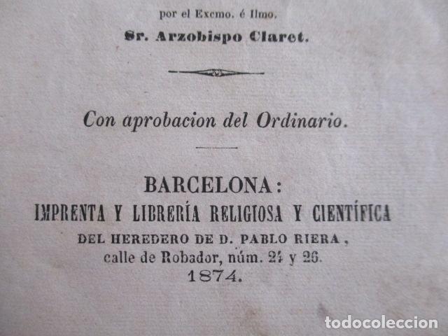 Libros antiguos: MANUAL DE MEDITACIONES. P. TOMAS DE VILLACASTIN. IMP. Y LIBR. PABLO RIERA. BARCELONA 1874 - Foto 14 - 166952292