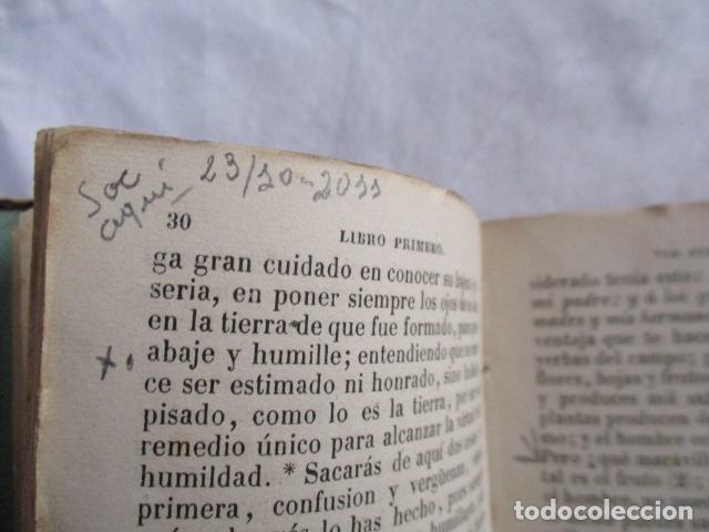 Libros antiguos: MANUAL DE MEDITACIONES. P. TOMAS DE VILLACASTIN. IMP. Y LIBR. PABLO RIERA. BARCELONA 1874 - Foto 16 - 166952292