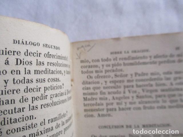 Libros antiguos: MANUAL DE MEDITACIONES. P. TOMAS DE VILLACASTIN. IMP. Y LIBR. PABLO RIERA. BARCELONA 1874 - Foto 18 - 166952292